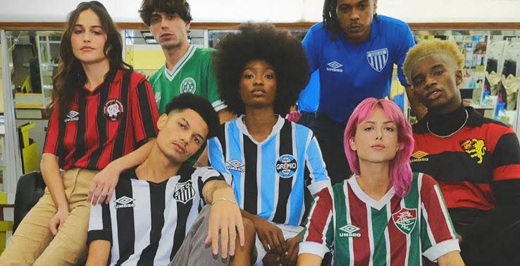 Umbro Brazil Retro Kits Collection Released - 7 Teams - Footy Headlines